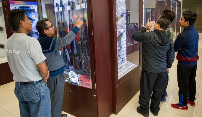 El mercado Legal de armas en México. - Página 4 Tienda-armas-sedena-mexico