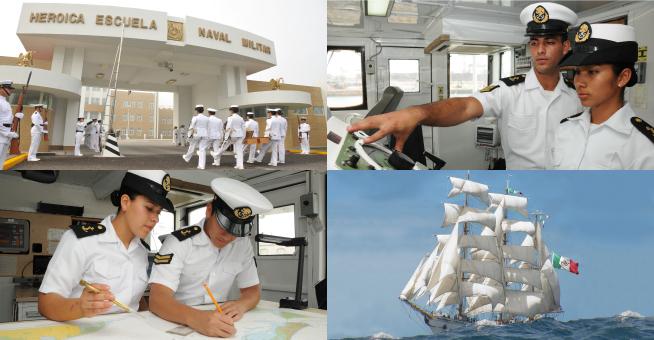 El sistema educativo naval brinda grandes oportunidades a la juventud.