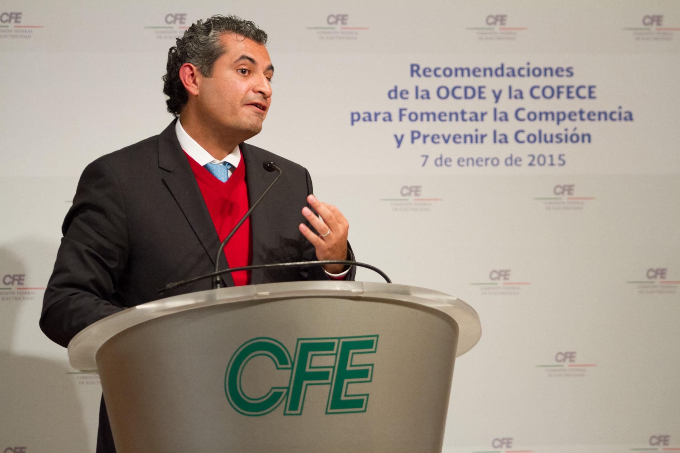 Enrique Ochoa Reza, director general de la Comisión Federal de Electricidad.