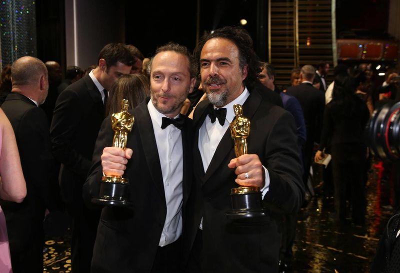 Iñárritu y Emmanuel 'El Chivo' Lubezki