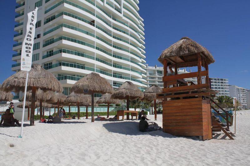 Baño Regadera Enfermeria:Conoce las 5 playas más familiares de Cancún