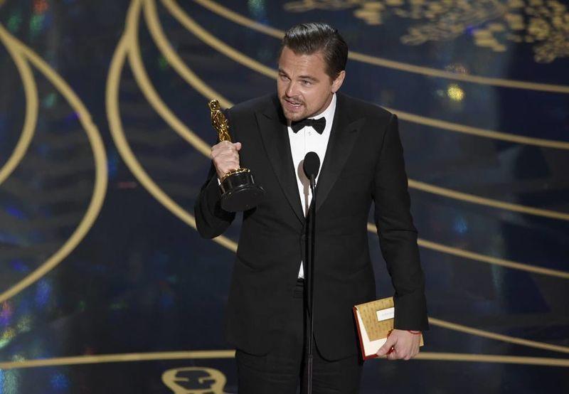 Leonardo Di Caprio, Oscar a mejor actor